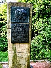 Schulze-Knabe Gedenkstein 1987