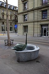Schwanengasse fountain