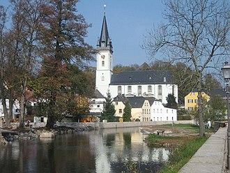 Schwarzenbach an der Saale - Church in Schwarzenbach an der Saale