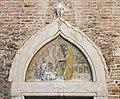 Scoleta dei calegheri (Venice) - rilievo di Pietro Lombardo, 1478.jpg