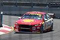 Scott McLaughlin got pole for both races and won the inaugural race. .jpg