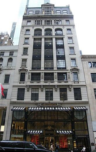 Charles Scribner's Sons Building - Image: Scribner 1