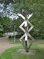 Sculpture near Kingsmead Footbridge, Canterbury - geograph.org.uk - 1408831.jpg