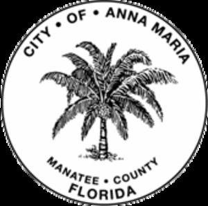 Anna Maria, Florida - Image: Seal of Anna Maria, Florida