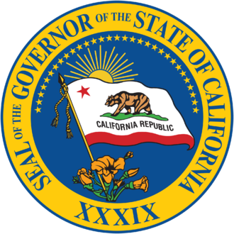 Seals of governors of the U.S. states - Image: Seal of the 39th Governor of California
