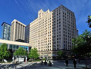 Medical Dental Building (Seattle) - Image: Seattle Medical Dental Building etc pano 01