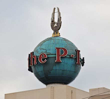 The P-I Globe is an official Seattle Landmark.
