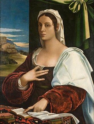 Vittoria Colonna - Image: Sebastiano del Piombo Vittoria Colonna (?) Google Art Project