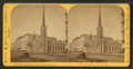 Second Presbyterian Church, Wabash Avenue. Combination views - (before and after fire), by Lovejoy & Foster.png