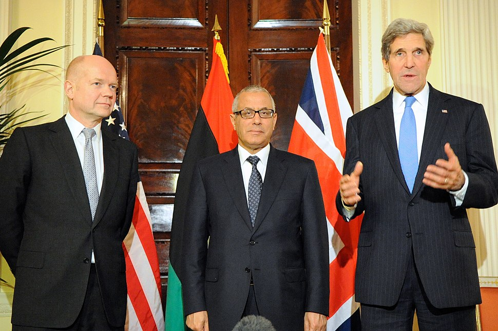 Secretary Kerry, UK Foreign Secretary Hague Hold News Conference With Libyan Prime Minister Ziedan (11035773394)