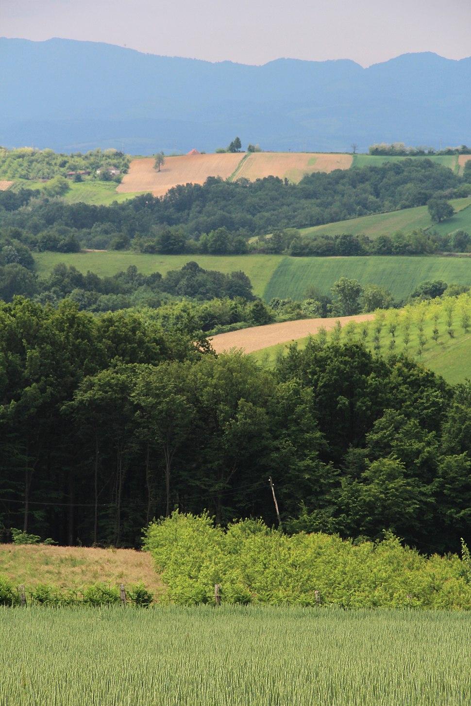 Selo Rabas - opština Valjevo - zapadna Srbija - Panorama 11