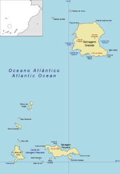 Savage Islands Wikipedia - Portugal map islands