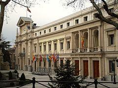 Senado fachada Madrid