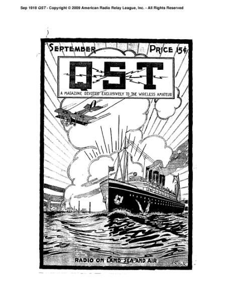 File:September 1919 QST.djvu