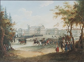 Orlov family - Grigory Orlov sold his huge manor and castle in Gatchina to the crown in 1783.