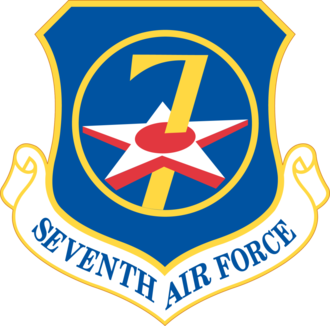 Seventh Air Force - Shield of the Seventh Air Force