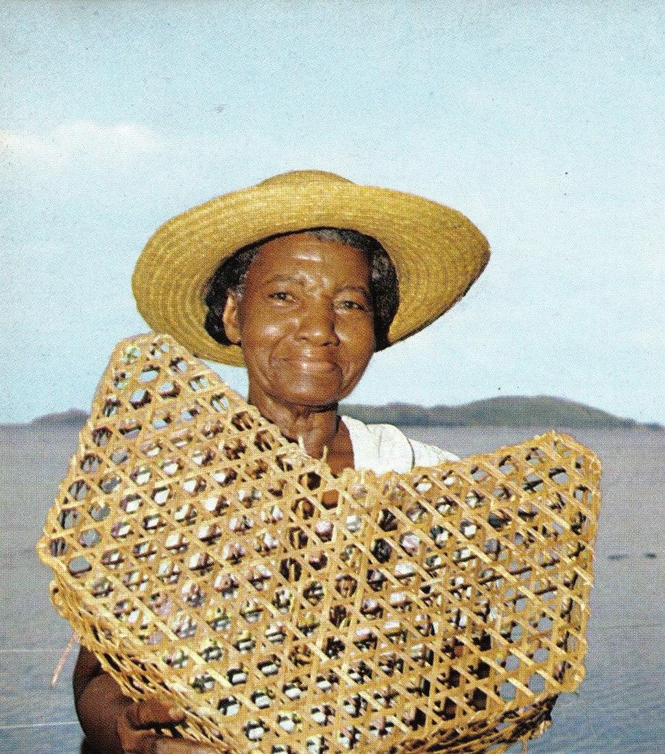 Seychelloise fish trap