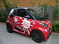 ShakeTastic branded car.JPG