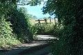 Sharp bend on a narrow lane - geograph.org.uk - 1439553.jpg
