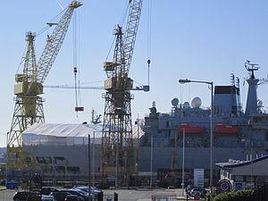 Ship refit, Cammel Laird, Birkenhead (1).JPG