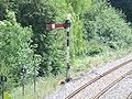 Shirley Station, Haslucks Green Road, Shirley - old signal (4746710474).jpg