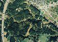 Shishitsuka-Oike water reservoir Aerial photograph.1990.jpg