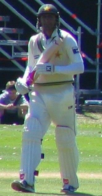 Shoaib Malik - Shoaib Malik playing against New Zealand at Dunedin, 2009