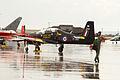 Short S-312 Tucano T1 (ZF214) del Tucano Display Team de la Royal Air Force (RAF) (15352513218).jpg