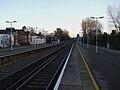 Shortlands station Herne Hill eastbound platform look east2.JPG