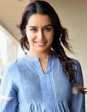 Shraddha Kapoor - Kapoor at a promotional event for Baaghi in 2016, the film has established her as one of the leading actresses in Hindi Cinema.