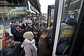Shuttle Bus at Barclays Center after Hurricane Sandy vc.jpg