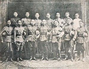Vajiravudh - Photograph of Palace Revolt of 1912 key plotters