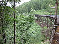 Side view of Mine Creek trestle - John Wayne Pioneer Trail (2015).jpg