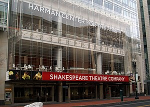 Shakespeare Theatre Company - Sidney Harman Hall, 610 F Street NW, Washington, DC