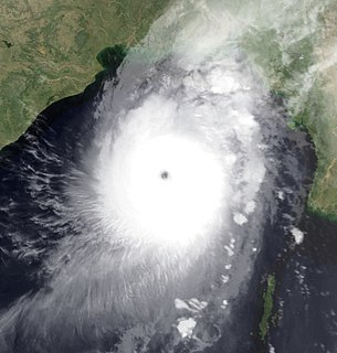 Cyclone Sidr North Indian cyclone in 2007