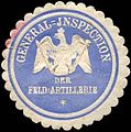 Siegelmarke General - Inspektion der Feldartillerie W0237999.jpg