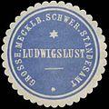 Siegelmarke Grossh. Mecklenb. Schweriner Standesamt Ludwigslust W0337992.jpg