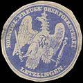 Siegelmarke K.Pr. Oberfoersterei Letzlingen (Försterei) W0342851.jpg