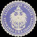 Siegelmarke K. Marine Kommando S.M.S. Charlotte W0357706.jpg