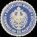 Siegelmarke K. Marine Kommando der VIII. Halbflottille W0357592.jpg