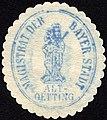 Siegelmarke Magistrat der Bayerischen Stadt Alt - Oetting W0229279.jpg