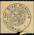 Siegelmarke Magistrat der Stadt Ruhland Stadt- Haupt- und Steuerkasse W0338780.jpg