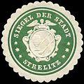 Siegelmarke Siegel der Stadt - Strelitz W0245744.jpg