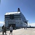 Silja Symphony in Visby harbor, july 2020.jpg