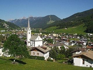 Sillian Place in Tyrol, Austria