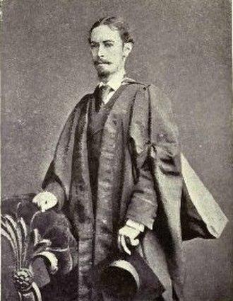 Silvanus P. Thompson - Silvanus Thompson, at about the age of 25.