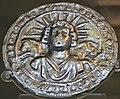 Silver disc dedicated to Sol Invictus, 3rd century AD, found at Pessinus (Asia Minor), British Museum - 16099596841.jpg