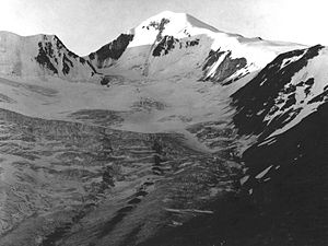 Similaun north face in 1981