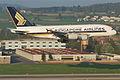 Singapore Airlines Airbus A380-841; 9V-SKJ@ZRH;16.04.2011 595cc (5629408416).jpg