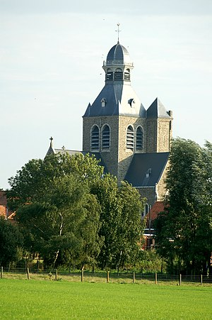 Mesen - Image: Sint Niklaaskerk
